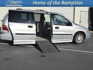 Used Wheelchair Van For Sale 2002 Ford Windstar LX Accessible With