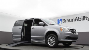 Used Wheelchair Van For Sale: 2019 Dodge Caravan  Wheelchair Accessible Van For Sale with a BraunAbility - Dodge CompanionVan Plus XT on it. VIN: 2C4RDGCG4KR544992
