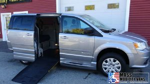 New Wheelchair Van For Sale: 2017 Dodge Grand Caravan SE Wheelchair Accessible Van For Sale with a BraunAbility Entervan - Manual on it. VIN: 2C4RDGBGXHR784011
