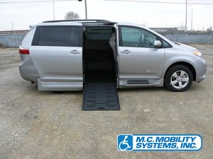 New Wheelchair Van For Sale: 2017 Toyota Sienna LE Wheelchair Accessible Van For Sale with a Toyota Power XL on it. VIN: 5TDKZ3DC1HS887976