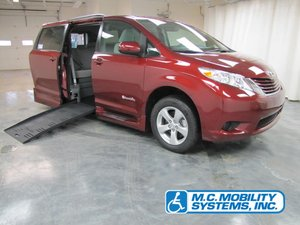 New Wheelchair Van For Sale: 2017 Toyota Sienna LE Wheelchair Accessible Van For Sale with a Toyota Power XL on it. VIN: 5TDKZ3DC7HS890106