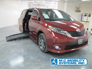 New Wheelchair Van For Sale: 2015 Toyota Sienna  Wheelchair Accessible Van For Sale with a Toyota Power XT on it. VIN: 5TDXK3DC6FS612241