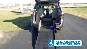 Used Wheelchair Van For Sale: 2017 Toyota Sienna SE Wheelchair Accessible Van For Sale with a Toyota ADA Manual Rear Entry on it. VIN: 5TDZZ3DC2HS889850
