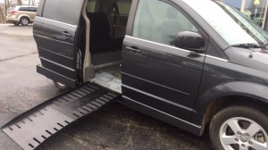 Used Wheelchair Van For Sale: 2012 Dodge Caravan  Wheelchair Accessible Van For Sale with a AMS - Dodge Legend Side Entry on it. VIN: 2c4rdgdg2cr109677