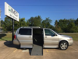 Used Wheelchair Van For Sale: 2006 Chevrolet Uplander LE Wheelchair Accessible Van For Sale with a Braun Entervan on it. VIN: 1GBDV13L96D182429