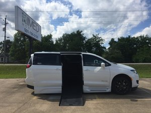 New Wheelchair Van For Sale: 2019 Chrysler Pacifica Sport Wheelchair Accessible Van For Sale with a Braun XT on it. VIN: 2C4RC1BG0KR657338