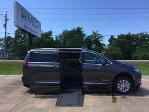 New Wheelchair Van For Sale: 2018 Chrysler Pacifica Touring Wheelchair Accessible Van For Sale with a BraunAbility Xi on it. VIN: 2C4RC1BG2JR212551