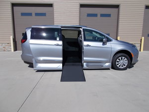 New Wheelchair Van For Sale: 2019 Chrysler Pacifica Touring Wheelchair Accessible Van For Sale with a Northstar on it. VIN: 2C4RC1BG4KR612984