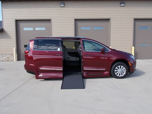 New Wheelchair Van For Sale: 2019 Chrysler Pacifica Touring Wheelchair Accessible Van For Sale with a Northstar on it. VIN: 2C4RC1BG5KR554593
