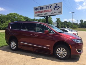 New Wheelchair Van For Sale: 2018 Chrysler Pacifica Touring Wheelchair Accessible Van For Sale with a BraunAbility Xi on it. VIN: 2C4RC1EG4JR291619