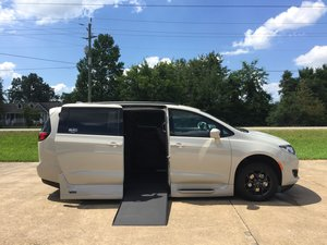 New Wheelchair Van For Sale: 2019 Chrysler Pacifica Sport Wheelchair Accessible Van For Sale with a Northstar on it. VIN: 2C4RC1EG4KR652655