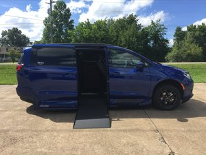 New Wheelchair Van For Sale: 2019 Chrysler Pacifica Sport Wheelchair Accessible Van For Sale with a Northstar on it. VIN: 2C4RC1EG9KR633745