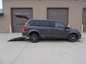 New Wheelchair Van For Sale: 2018 Dodge Grand Caravan SE Wheelchair Accessible Van For Sale with a Verge II E on it. VIN: 2C4RDGBG0JR206456