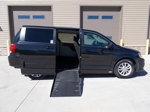 Used Wheelchair Van For Sale: 2016 Dodge Grand Caravan SXT Wheelchair Accessible Van For Sale with a Adaptive Side Entry on it. VIN: 2C4RDGCG0GR375724