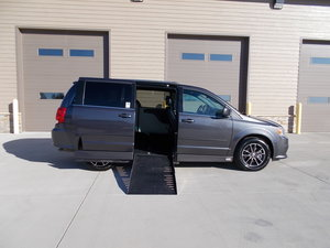 Used Wheelchair Van For Sale: 2017 Dodge Grand Caravan SE Wheelchair Accessible Van For Sale with a Adaptive Side Entry on it. VIN: 2C4RDGCG4HR806938