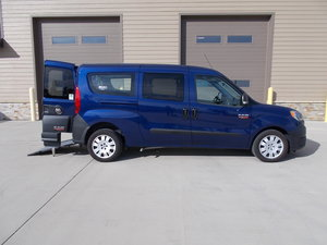 New Wheelchair Van For Sale: 2018 Ram Promaster  Wheelchair Accessible Van For Sale with a Pro Master City on it. VIN: ZFBERFAB4J6H87134