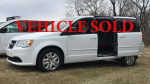 Used Wheelchair Van For Sale: 2015 Dodge Caravan  Wheelchair Accessible Van For Sale with a FR Wheelchair Vans - Dodge Rear Entry on it. VIN: 2C4RDGBGXFR623235