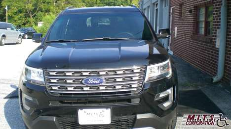 Used Wheelchair Van For Sale: 2017 Ford Explorer XL Wheelchair Accessible Van For Sale with a  on it. VIN: 1FM5K7D87HGA89704