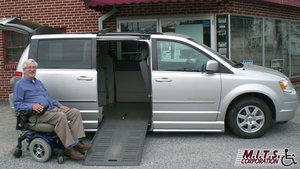 Used Wheelchair Van For Sale: 2010 Chrysler Town & Country Touring Wheelchair Accessible Van For Sale with a  on it. VIN: 2A4RR5D10AR129855