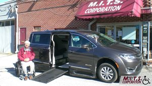 Used Wheelchair Van For Sale: 2019 Chrysler Pacifica Touring Wheelchair Accessible Van For Sale with a BraunAbility Chrysler Entervan II on it. VIN: 2C4RC1BG4KR554066