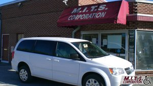 Used Wheelchair Van For Sale: 2014 Dodge Grand Caravan SXT Wheelchair Accessible Van For Sale with a AMS Vans Dodge Edge Rear Entry on it. VIN: 2C4RDGCG8ER262567