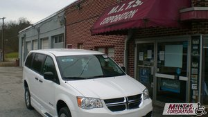 New Wheelchair Van For Sale: 2019 Dodge Grand Caravan SE Wheelchair Accessible Van For Sale with a BraunAbility Dodge Entervan II on it. VIN: 2C7WDGBG4KR740261
