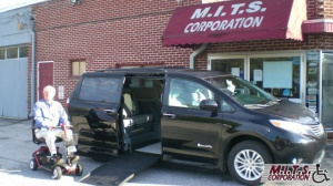 New Wheelchair Van For Sale: 2017 Toyota Sienna XLE Wheelchair Accessible Van For Sale with a BraunAbility Dodge Entervan XT on it. VIN: 5TDYZ3DCXHS881328