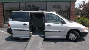 Used Wheelchair Van For Sale: 2000 Ford Windstar LX  Wheelchair Accessible Van For Sale with a IMS - Ford Windstar on it. VIN: 2FMZA5142YBB22111