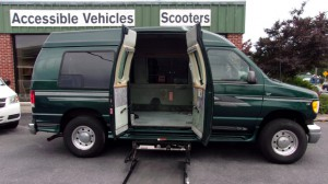 Used Wheelchair Van For Sale: 2001 Ford E-150 XL Wheelchair Accessible Van For Sale with a Non Branded - Full Size Van Conversion on it. VIN: 1FDPE24L01HA55059