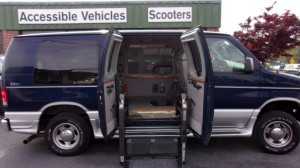 Used Wheelchair Van For Sale: 2007 Ford E-150  Wheelchair Accessible Van For Sale with a Non Branded - Full Size Van Conversion on it. VIN: 1FDNE14L77DA88058