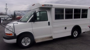 Used Wheelchair Van For Sale: 2007 Chevrolet 3500 Cutaway Bus  Wheelchair Accessible Van For Sale with a  on it. VIN: 1GBHG31V071230916