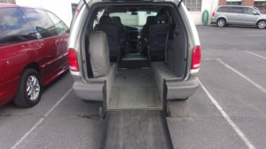 Used Wheelchair Van For Sale: 2000 Plymouth Grand Voyager  Wheelchair Accessible Van For Sale with a Non Branded - Please See Description on it. VIN: 2P4GP44G3YR563582