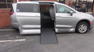 Used Wheelchair Van For Sale: 2019 Chrysler Pacifica Touring Wheelchair Accessible Van For Sale with a VMI - Chrysler Pacifica Northstar Access360 by VMI on it. VIN: 2C4RC1EG8KR522443