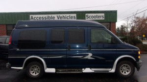 Used Wheelchair Van For Sale: 2000 Chevrolet Chevy Van  Wheelchair Accessible Van For Sale with a Non Branded - Full Size Van Conversion on it. VIN: 1GDFG15R1Y1170016