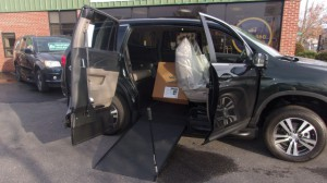 Used Wheelchair Van For Sale: 2018 Honda Pilot EX-L Wheelchair Accessible Van For Sale with a VMI - VMI Honda Pilot with Northstar E on it. VIN: 5FNYF5H52JB017237