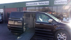Used Wheelchair Van For Sale: 2010 Chrysler Town & Country Limited Wheelchair Accessible Van For Sale with a BraunAbility - Chrysler Entervan II on it. VIN: 2A4RR6DXOAR437182