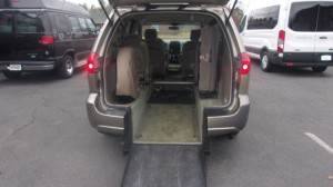Used Wheelchair Van For Sale: 2006 Toyota Sienna  Wheelchair Accessible Van For Sale with a Vision Rear Entry - Vision Rear Entry Power on it. VIN: 5TDZA23C66S464700