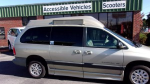 Used Wheelchair Van For Sale: 2000 Dodge Caravan  Wheelchair Accessible Van For Sale with a IMS - Dodge and Chrysler on it. VIN: 2B4GP44R5YR787312