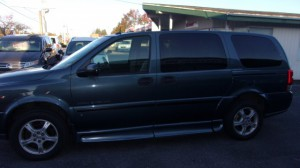 Used Wheelchair Van For Sale: 2006 Chevrolet Uplander SE Wheelchair Accessible Van For Sale with a BraunAbility - Chevrolet Entervan on it. VIN: 1GBDV13L16D207713