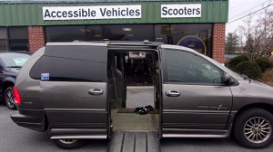 Used Wheelchair Van For Sale: 1999 Chrysler Town & Country Limited Wheelchair Accessible Van For Sale with a IMS - Dodge and Chrysler on it. VIN: 1C4GP64L0XB817520