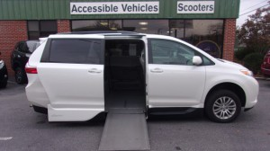Used Wheelchair Van For Sale: 2016 Toyota Sienna XLE Wheelchair Accessible Van For Sale with a VMI - VMI Northstar E Toyota  on it. VIN: 5TDYK3DC0G5726094