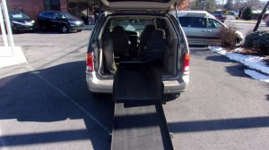 Used Wheelchair Van For Sale: 1999 Ford Windstar LX Wheelchair Accessible Van For Sale with a Vision Rear Entry - Vision Rear Entry Manual on it. VIN: 2FMDA5140XBC16528