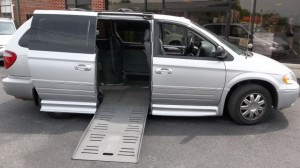 Used Wheelchair Van For Sale: 2007 Chrysler Town & Country Limited Wheelchair Accessible Van For Sale with a BraunAbility - Dodge Entervan II on it. VIN: 2A4GP64LX7R315044