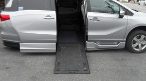 Used Wheelchair Van For Sale: 2019 Honda Odyssey  Wheelchair Accessible Van For Sale with a BraunAbility - Honda Entervan II on it. VIN: 5FNRL6H77KB031978