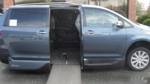 Used Wheelchair Van For Sale: 2017 Toyota Sienna Limited Wheelchair Accessible Van For Sale with a VMI - VMI Northstar E Toyota  on it. VIN: 5TDY23DC9HS833805