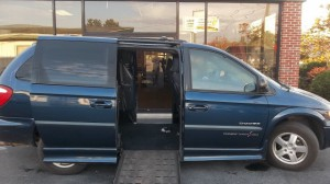 Used Wheelchair Van For Sale: 2001 Dodge Caravan  Wheelchair Accessible Van For Sale with a IMS - Dodge and Chrysler on it. VIN: 2B4GP443X1R255958