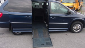 Used Wheelchair Van For Sale: 2002 Chrysler Town & Country  Wheelchair Accessible Van For Sale with a BraunAbility - Dodge Entervan II on it. VIN: 2C8GP64L22R587925