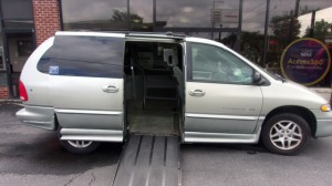 Used Wheelchair Van For Sale: 1999 Dodge Caravan  Wheelchair Accessible Van For Sale with a IMS - Dodge and Chrysler on it. VIN: 1B4GP54G7XB526961