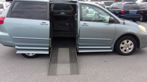 Used Wheelchair Van For Sale: 2005 Toyota Sienna  Wheelchair Accessible Van For Sale with a IMS - Toyota on it. VIN: 5TD2A23C25S257691