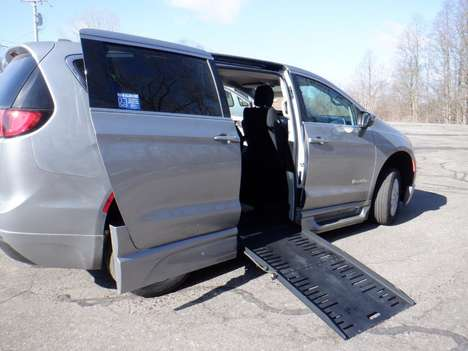 Used Wheelchair Van For Sale: 2017 Chrysler Pacifica Touring Wheelchair Accessible Van For Sale with a  on it. VIN: 2C4RC1BGXHR796546